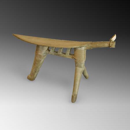 A Mortlock coconut grating stool