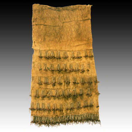 An Admirality island apron