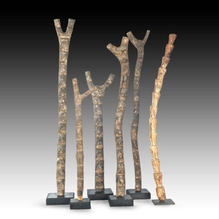 Dogon Altar ladders