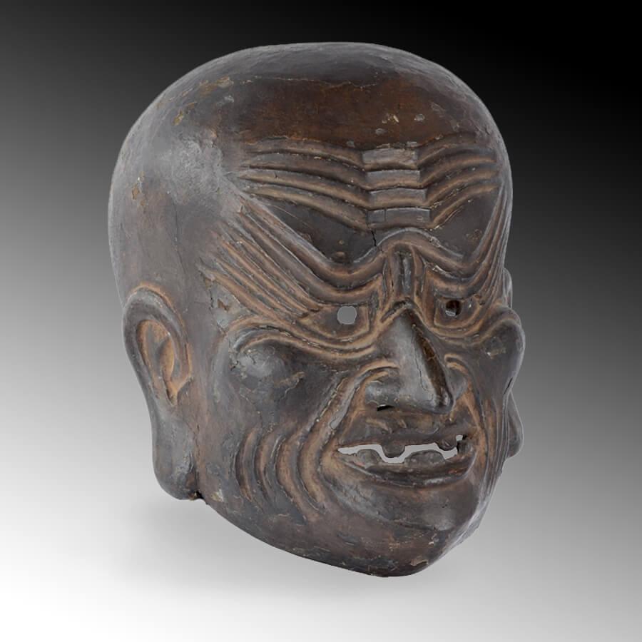 A fine Gigaku mask