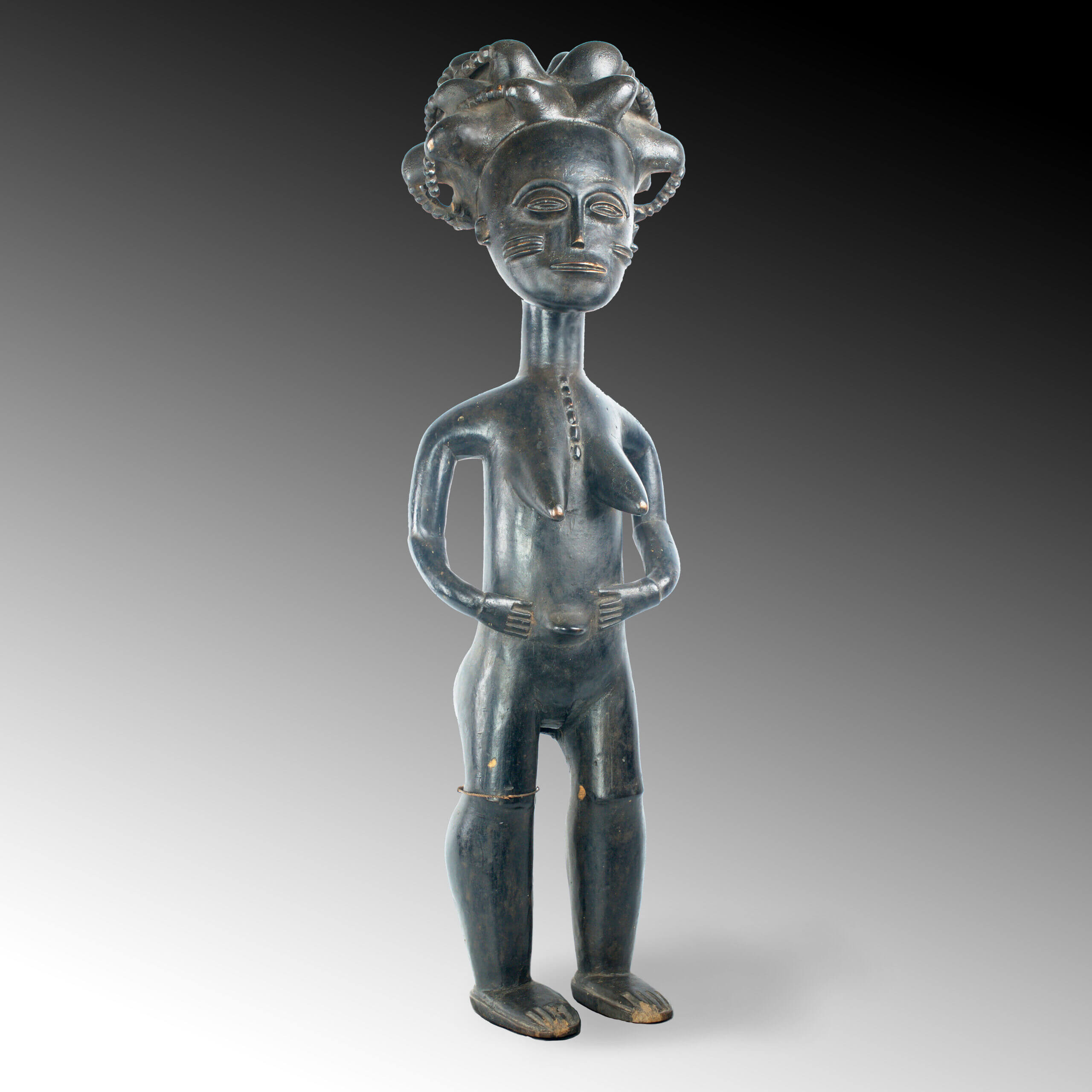 An Akan figure