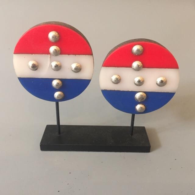 Pair of Zulu ear ornaments