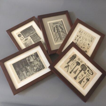Original prints from W.O. Oldman