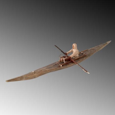 An Eskimo Kayak model