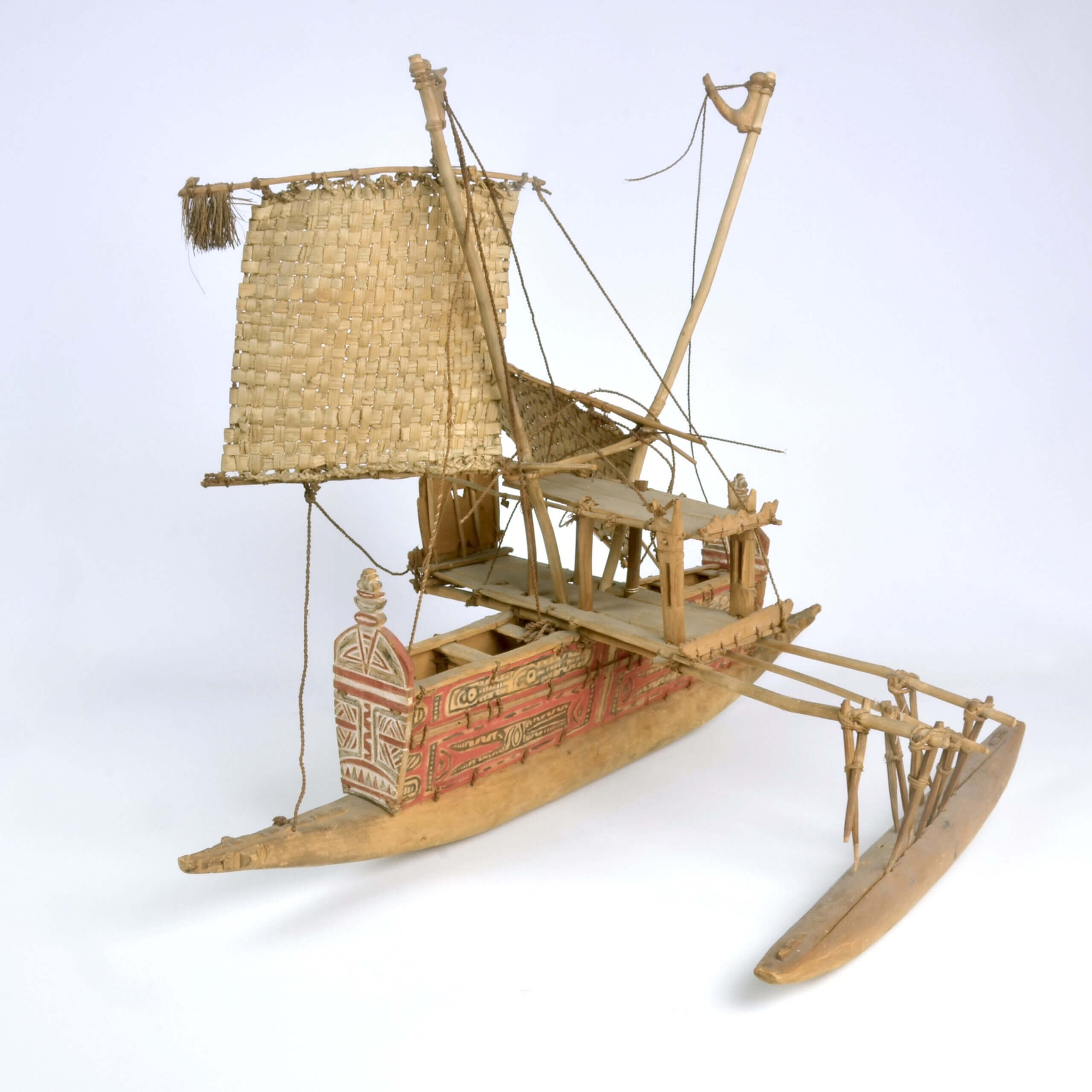 An Tami Islands Canoe model