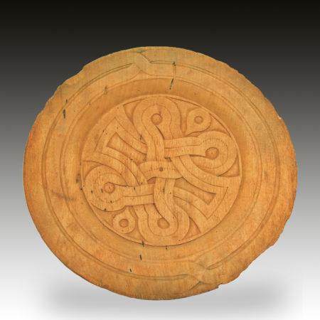 A Surinam wooden dish