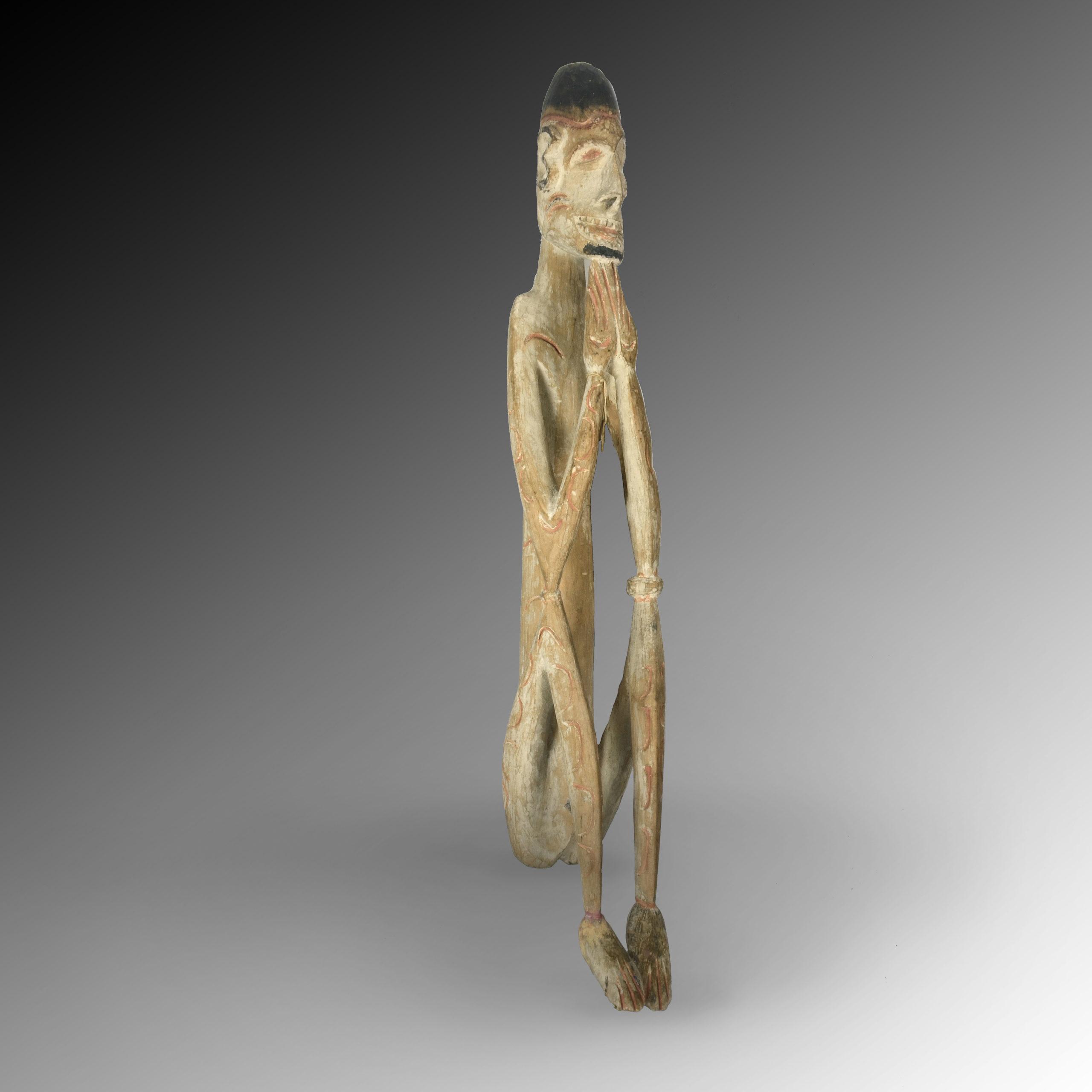 An Asmat ancestor statue
