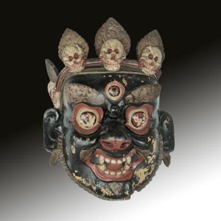 Antique Tibetan mask