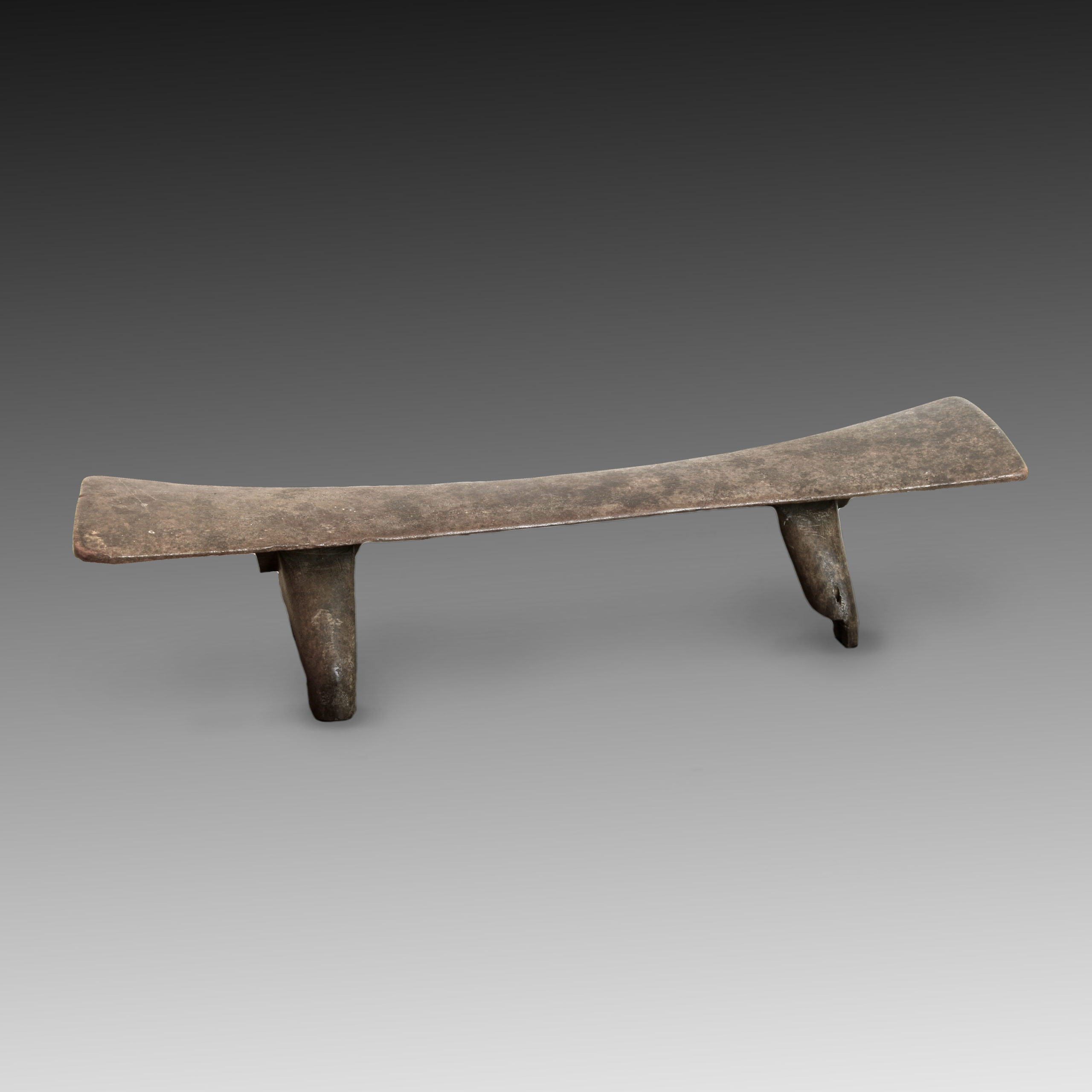 A Kali Laloni headrest, Tonga Islands