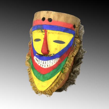A Tolai ceremonial dance mask