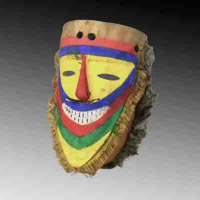 A Tolai ceremonial dance mask