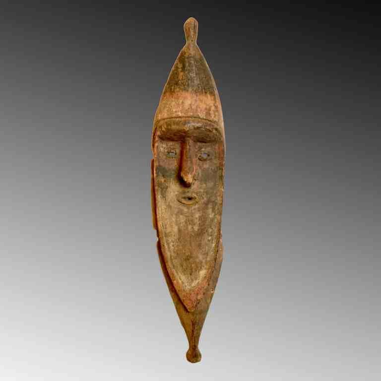 A Sepik flute mask