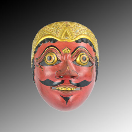 a Javanese Topeng mask