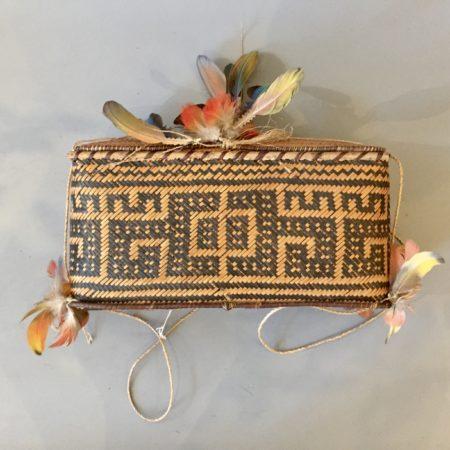 A Wai Wai man's storage basket