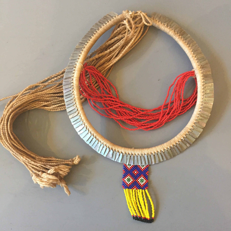A Kayapó-Xikrin man's necklace