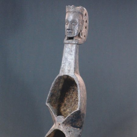 Antique wooden lute Nepal