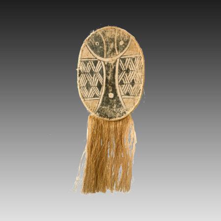 Kamayurá dance costume mask