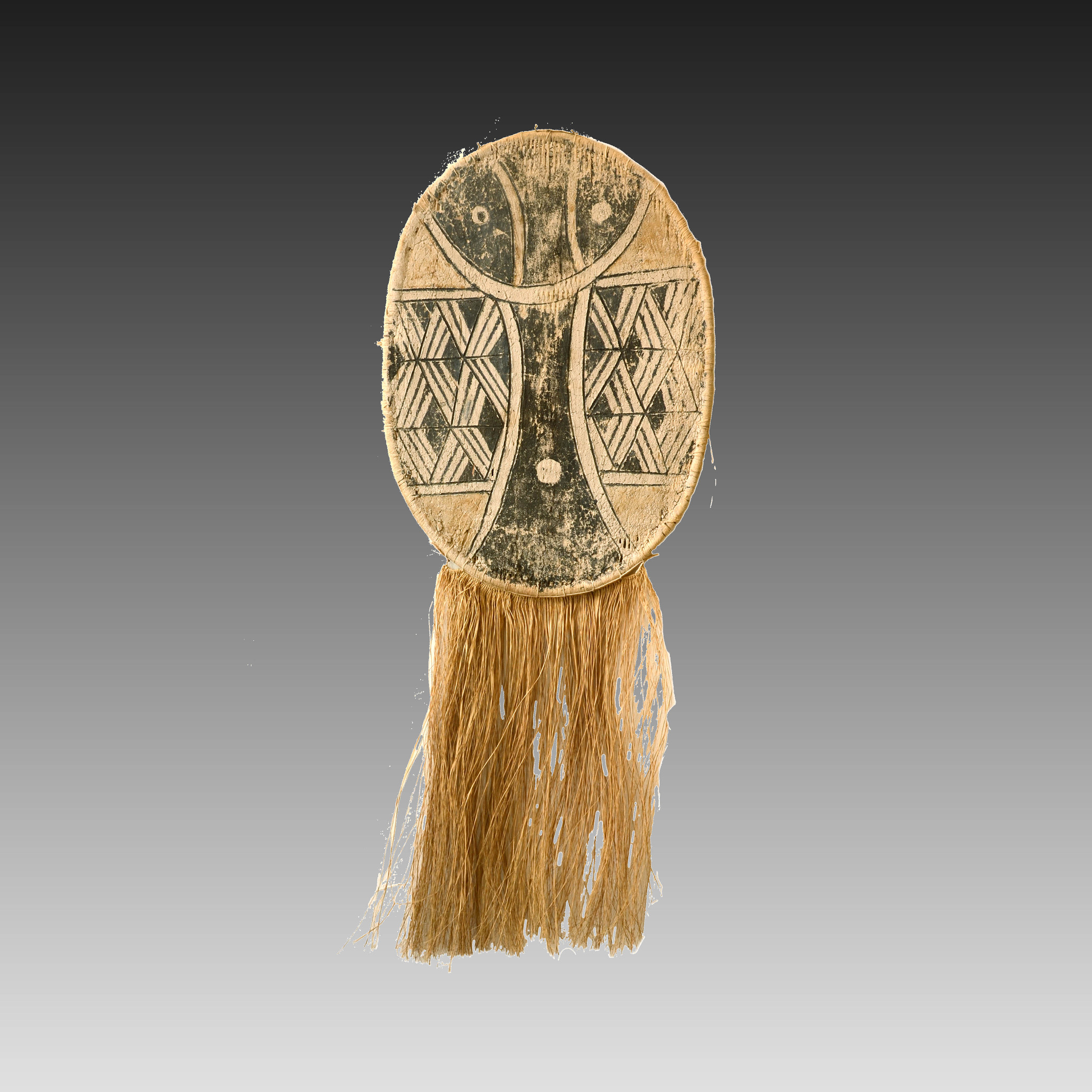 Kamayurá dance costume mask