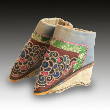 A Pair of Chinese Lotus shoes