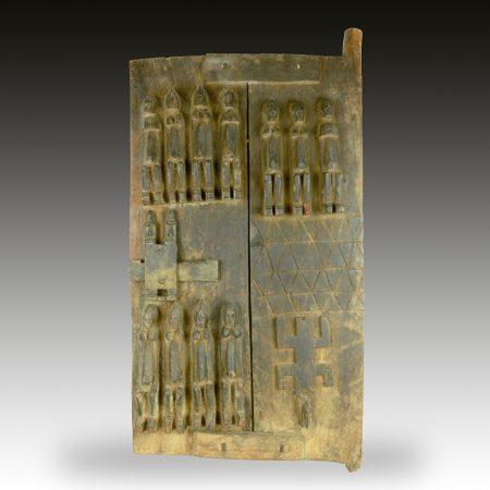 A Dogon Granery door