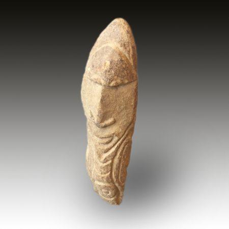 A Korewori Stone Figure