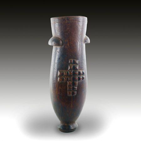 A Zulu milk pail