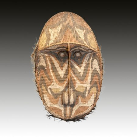 A Sepik Gable mask