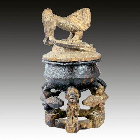 A Yoruba offering bowl