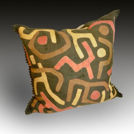 A large Kuba pillow